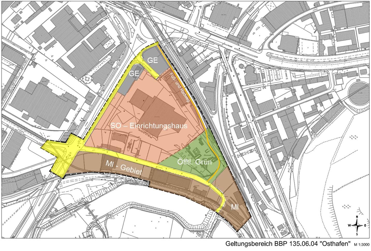 Möbel Martin Saarbrücken landeshauptstadt stellt bebauungsplanverfahren osthafen vor